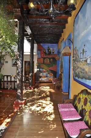 Hotel Jardines del Centro: patio