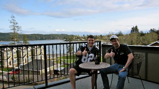 Sooke Harbour Resort and Marina: View from the Master Bedroom's Balcony