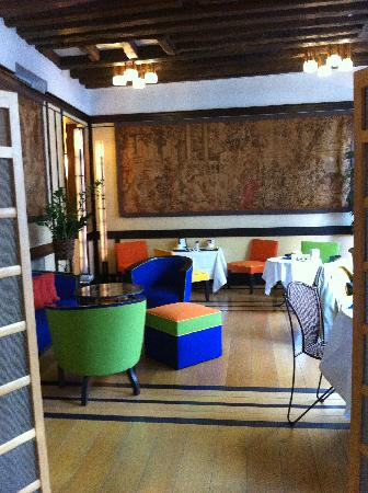 Odeon Hotel: The quaint, cute dining area