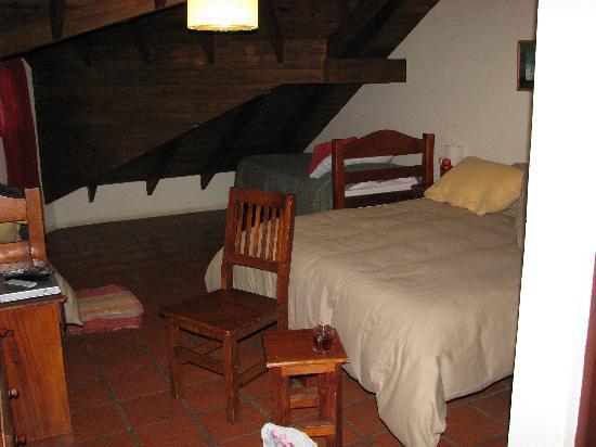 Anita's House Cabins: main beds upstairs