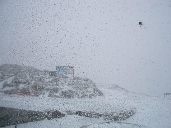 St. Moritz, Schweiz: ディアヴォレッツァ展望台風景