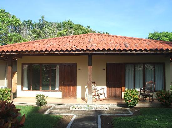 Ecoplaya Beach Resort: the villa we stayed in