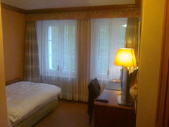 Einstein St.Gallen Hotel Congress Spa: Chambre single