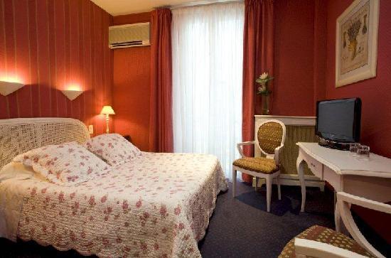 Hotel Olivier: double jardin