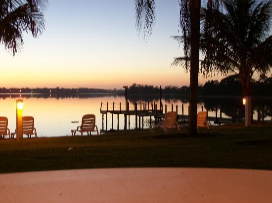 Lake Placid, Floride : Sitting outside2