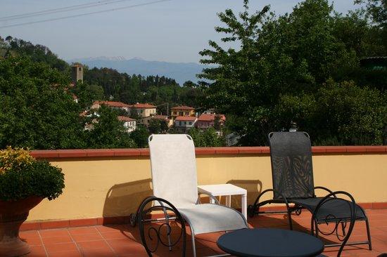 Hotel Bellavista: panoramic solarium