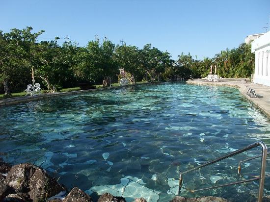 Jungle Hotel Painu Maya: プールは利用者が少なくて独占です