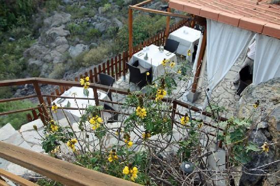 El Autentico: La terrasse