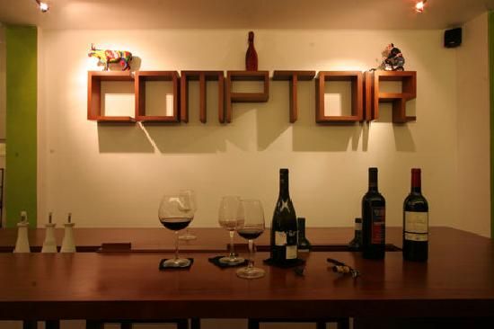 Comptoir, the restaurant and bar downstairs