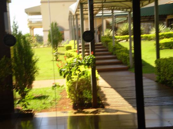 Wish Resort Golf Convention Foz do Iguaçu : フロントの周辺です。