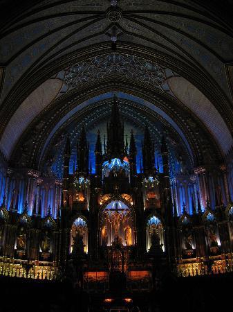 Montreal, Kanada: ノートルダム聖堂