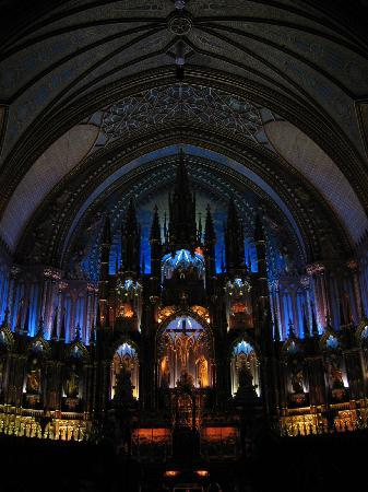 Montreal, Canada: ノートルダム聖堂