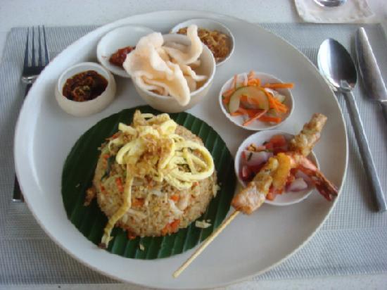 Soori Bali: delicious nasi goreng