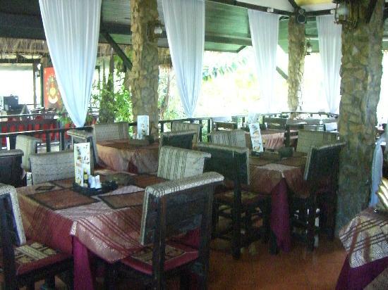 Cafe Del Sol Italian & Thai Restaurant : interno cafè del sol