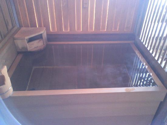 部屋 部屋 露天風呂 : 部屋の露天風呂: fotografía de ...