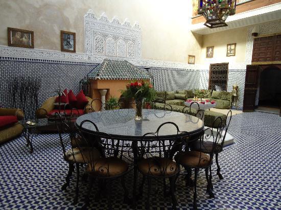 Riad Dar Elghali: Restaurant