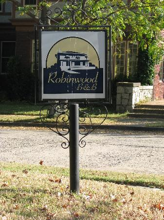 Robinwood Bed and Breakfast: Welcome to Robinwood
