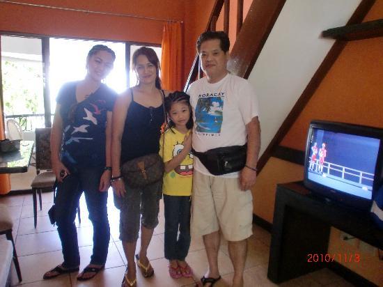 Hotel Villa Sunset Boracay: The family room