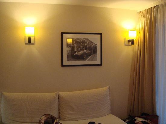 Adagio City Aparthotel Monte Cristo : Le salon