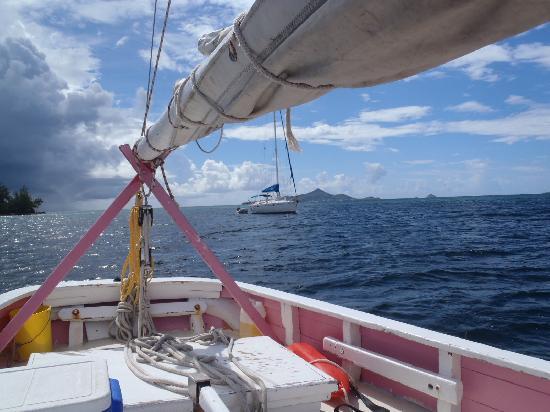 Palm Island Resort & Spa: On board the Pink Lady