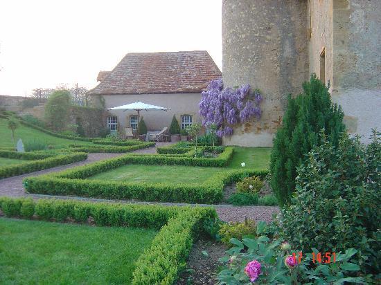 Chateau du Mont : Jardin