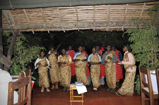 Kirurumu Manyara Lodge Kirurumu Tented Lodge - Dinner Entertainment - Very good & Kirurumu Tented Lodge - Dinner Entertainment - Very good - Picture ...