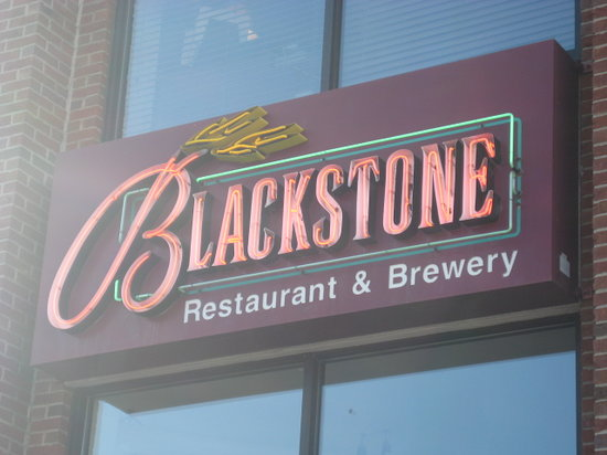 Blackstone Restaurant & Brewery: Sign