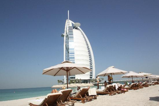 Burj Al Arab Jumeirah: BAA from the Beach