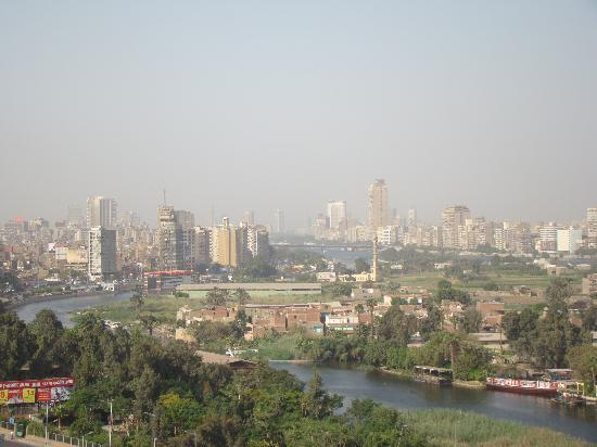 Swiss Inn Nile Hotel: View from roof