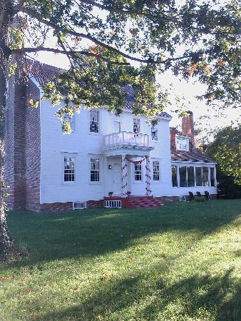 The Woodlawn Historic B&B: gorgeous historic Woodlawn