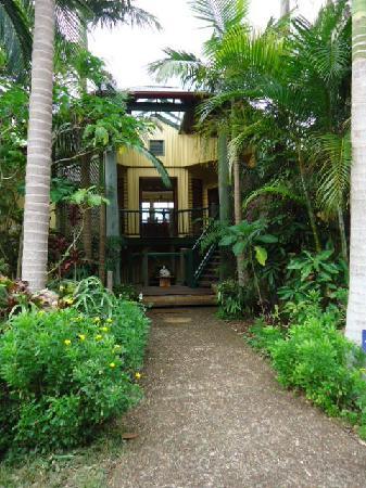 Maleny Hideaway: Entrance.
