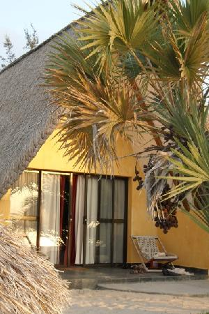 Bazaruto Island, Mozambik: The room from outside