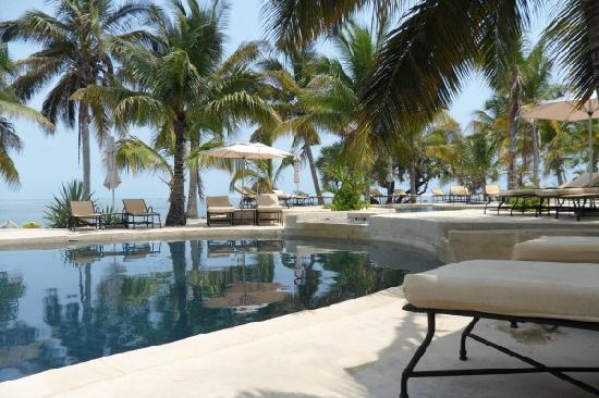 Bazaruto Island, Mozambique: the Pool area