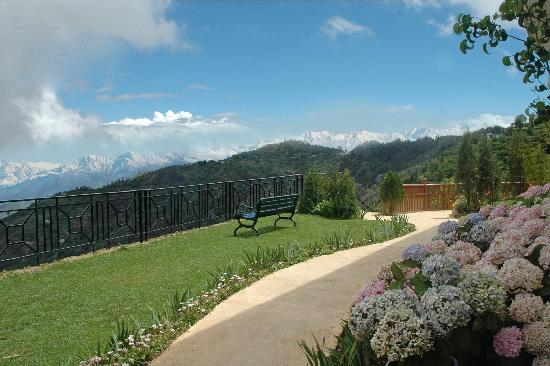 Kanatal, India: View from the Resort