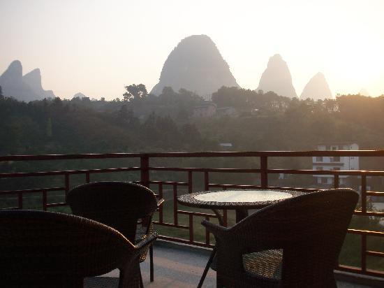 Trippers Carpe Diem Hostel Yangshuo : Morning View