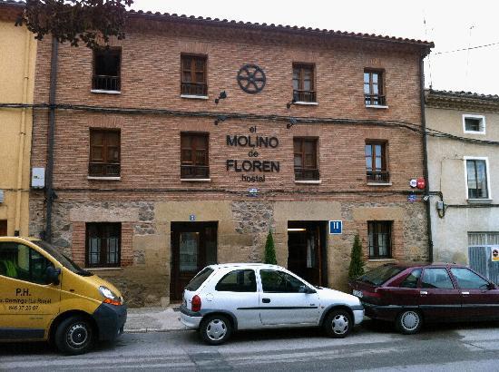 Hostal El Molino de Floren: La façade d'El Molino