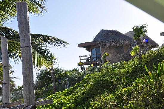 Suenos Tulum: hotel from beach