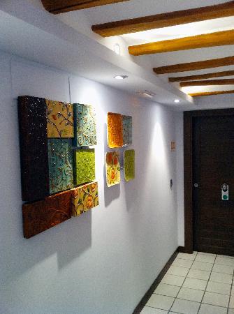 Hostal El Molino de Floren: Une déco simple et de bon goût dans les couloirs