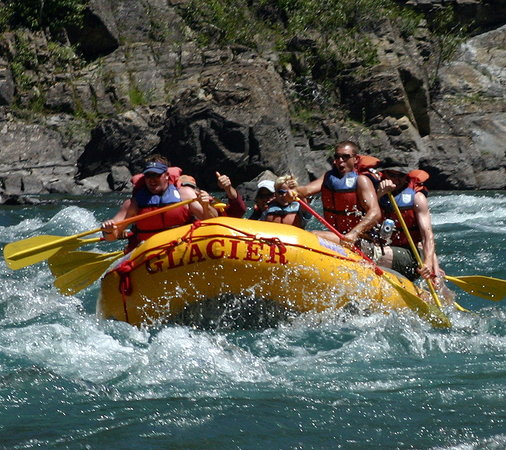 Glacier Raft Company: Riding the rapids