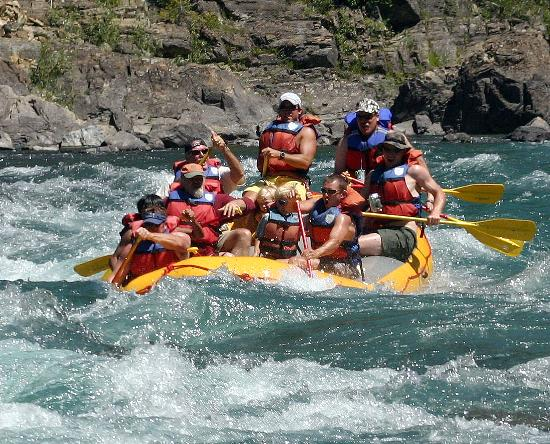 Glacier Raft Company: More fun