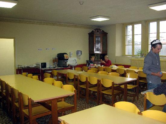 Notre Dame de l'Abbaye: Breakfast refectory