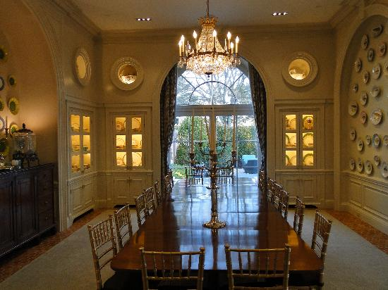 Glenmere Mansion: private dining room
