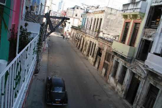 Casa Colonial Yadilis y Joel: from the balcony
