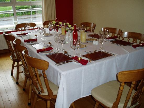 Brooke-Lodge Guesthouse: Private Dinner Party