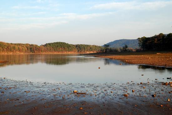 Lake Ouachita State Park Campground: Lake Ouachita from Tompsen Bend