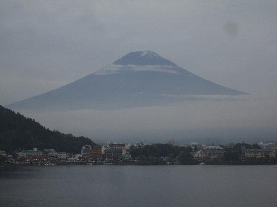 Tominoko Hotel: お部屋で寝たまま富士山