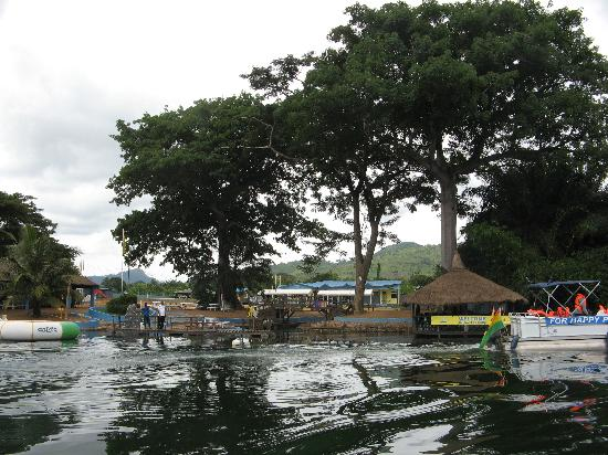 Accra, Ghana: Sajuna seen from volta river