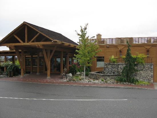 West Kelowna, Kanada: Front of Building