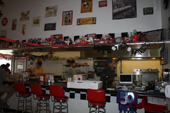 Strasburg Diner: The breakfast bar