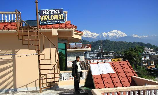 Hotel Diplomat: view from roof top
